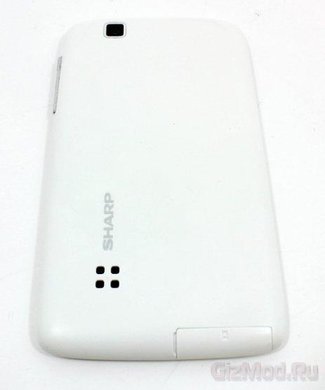 Бюджетный смарфтон Sharp SH530U - обзор