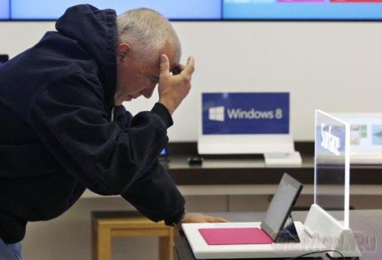Windows 8 как разочарование года