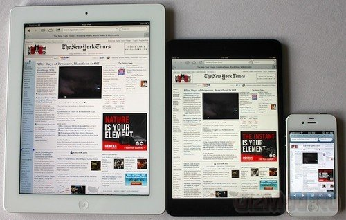 Apple iPad 5 ожидают этой весной в марте