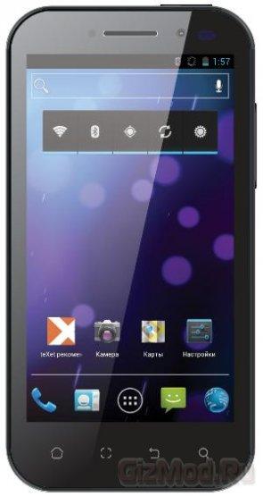 teXet анонсирует смартфоны TM-4577 и TM-5277