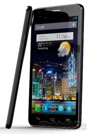 Ультра-тонкий Android-фон Alcatel One Touch Idol Ultra