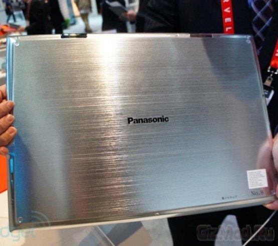"Прототип 20"" Ultra HD-планшета Panasonic"