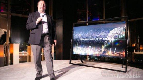 "Samsung продемонстрировала 85"" UHD-телевизор"