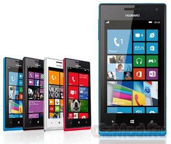 Смартфон Huawei Ascend W1 на Windows Phone 8 официально