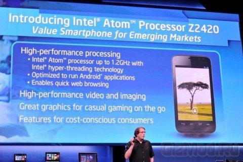 Intel Lexington - новая платформа для мобильных девайсов