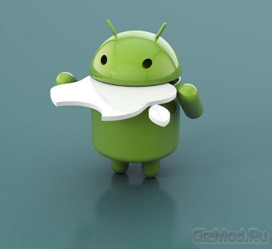 Android владычествует на рынке смартфонов