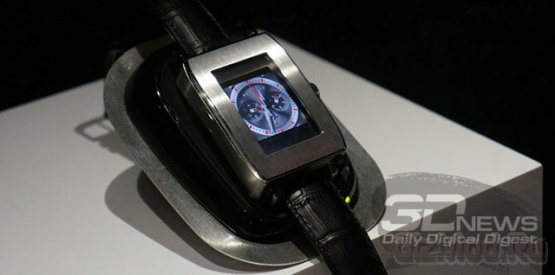 Computer Graphic Watch - наручный компьютер от Toshiba