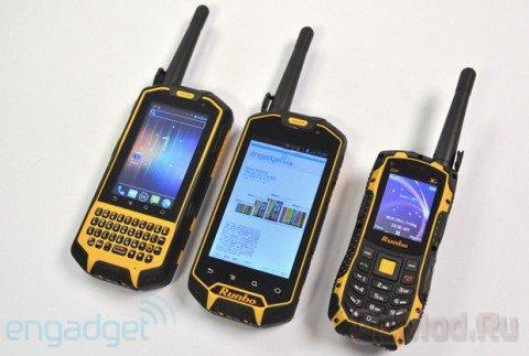 Защищённые Android-коммуникаторы с функцией радиосвязи