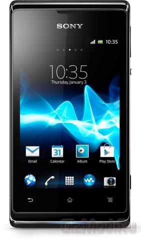 Sony Xperia E dual на российских прилавках