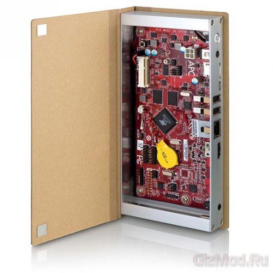 Одноплатный компьютер VIA APC Paper в виде книги
