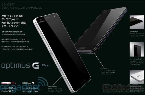 Смартфон LG Optimus G Pro: первый взгляд
