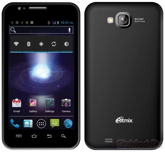 Смартфоны Ritmix дебютировали в России