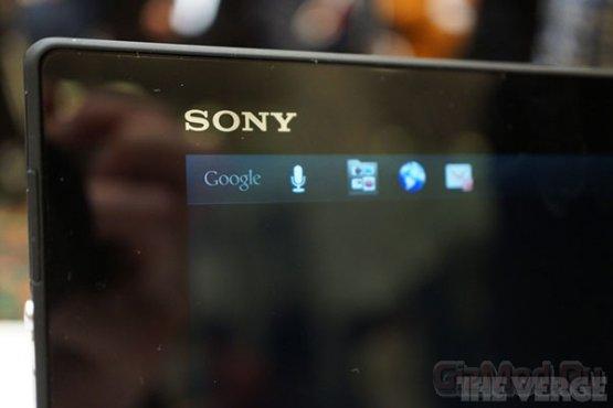 Первые впечатления от Sony Xperia Tablet Z