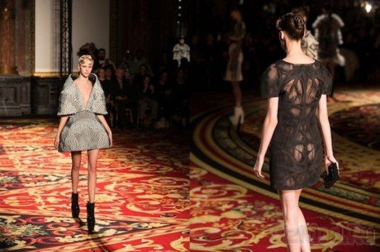 Модные напечатанные 3D-платья