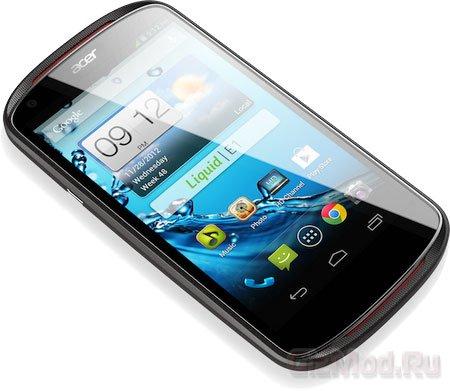 "Acer выпускает бюджетный 4,5"" смартфон Liquid E1"