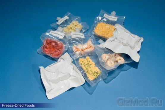Что кушают астронавты