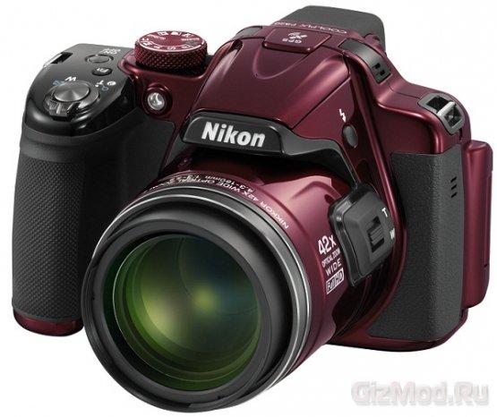 Nikon выпустит два суперзума Coolpix P520 и L820