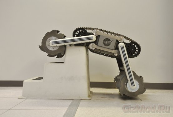 RASSOR - робоэкскаватор для Луны и Марса