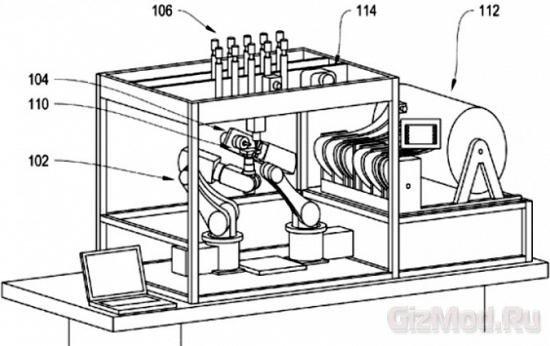 Роботы делают роботов: патент
