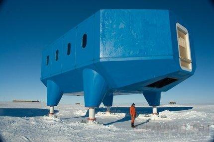Новая полярная станция сможет уходить на безопасное место