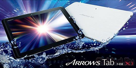 Преимущества нового планшета Fujitsu ARROWS Tab Wi-Fi