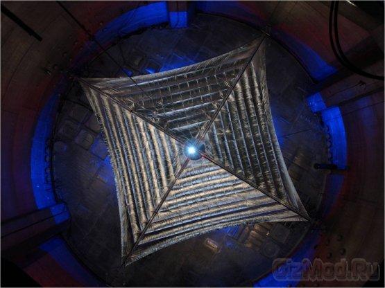 Гигантский солнечный парус отправят в путшествие по Вселенной