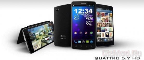 Три смартфона BLU Products на платформе Tegra 3
