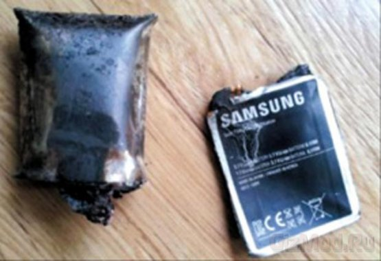 Samsung Galaxy Note рвонул в кармане