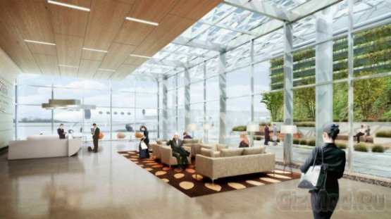 Google строит аэропорт
