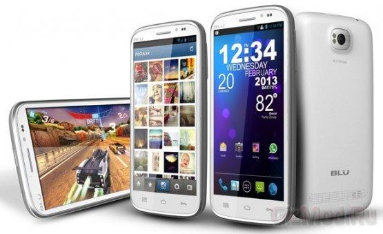 Studio 5.3 II и Tank 4.5 смартфоны от BLU Products