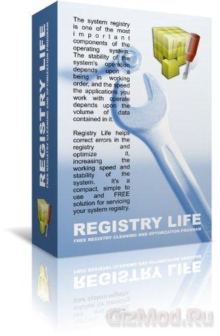 Registry Life 1.69 - редактор реестра