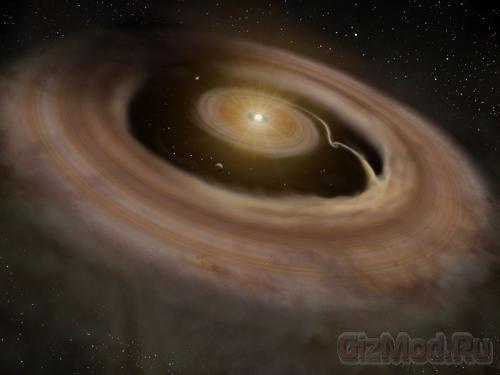 Астрономы узрели зарождение планеты