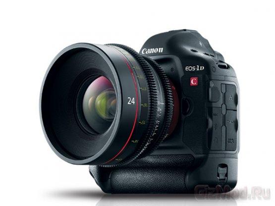 Canon добавит в камеру EOS-1D C возможность съемки видео 4K