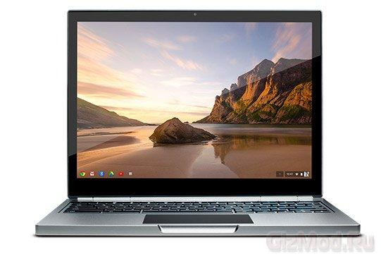 Google представила ноутбук Chromebook Pixel