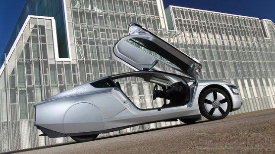 """Гибридный Volkswagen """"ест"""" меньше литра на 100 км."""