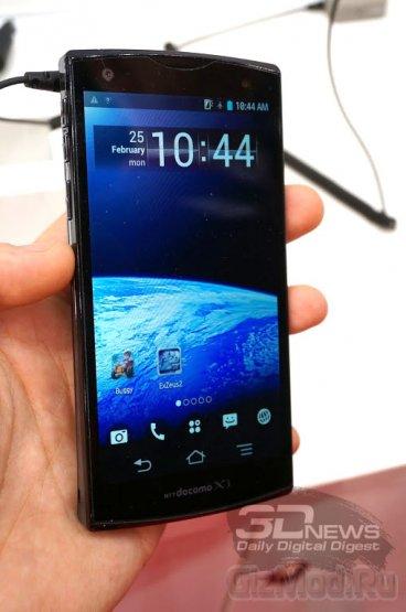 Fujitsu показала защищенные планшеты и смартфоны