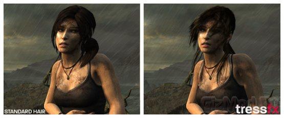 AMD TressFX рисует настоящие волосы в играх