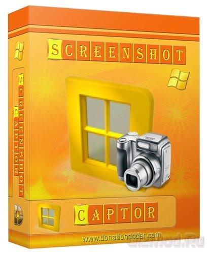 Screenshot Captor 4.7.2 - снимает скриншоты