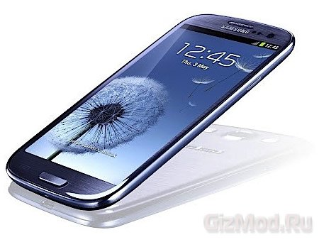 Прокрутка экрана движением глаз в Galaxy S IV