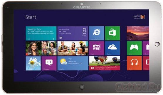 Подробнее о планшете Gigabyte Padbook S1185