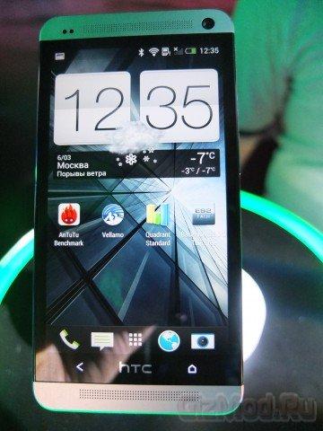 HTC One дебютировал в Москве