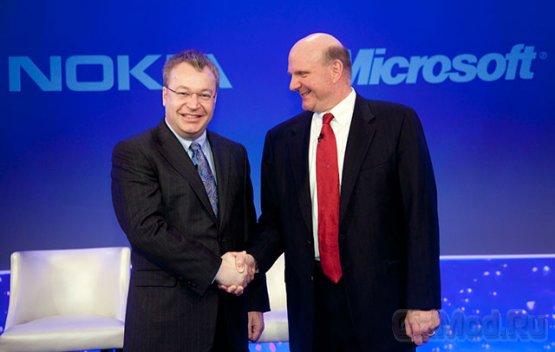 "Microsoft ""нагреет"" Nokia на 500 млн евро"