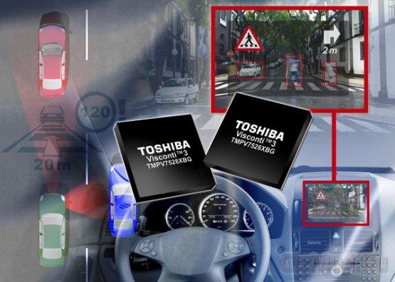 Процессор идентификации изображений Toshiba Visconti 3