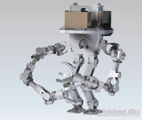 Гусеничный андроид CHIMP