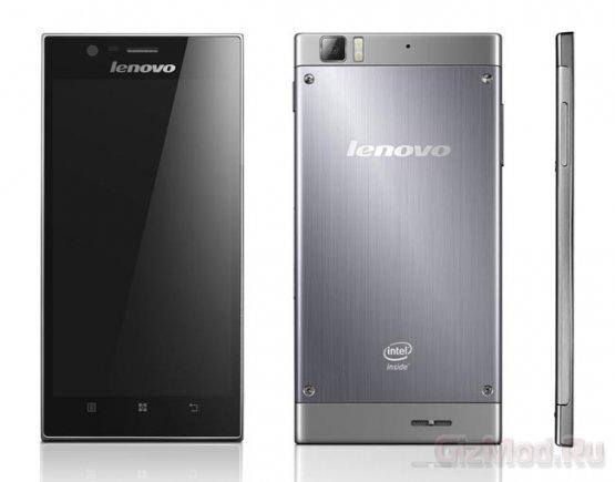 Atom-смартфон Lenovo K900 в продаже в апреле