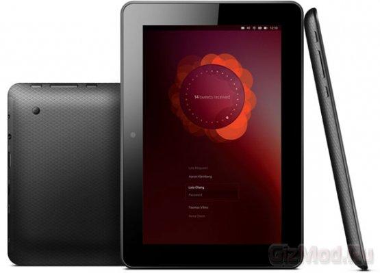 Планшеты U7 с ОС Ubuntu на прилавках в октябре