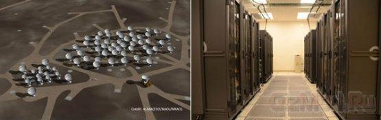 Суперкомпьютер Fujitsu обслуживает обсерваторию ALMA