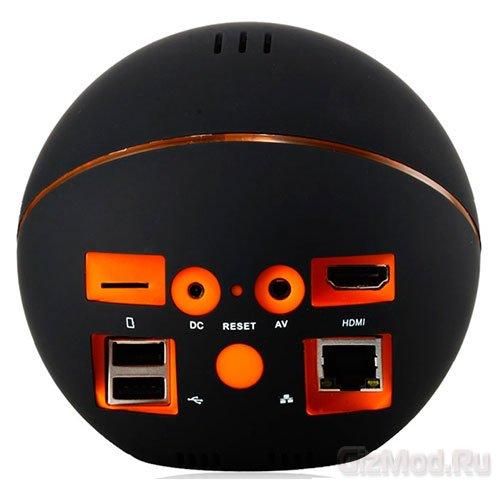 Шарообразный плеер Android TV Ball
