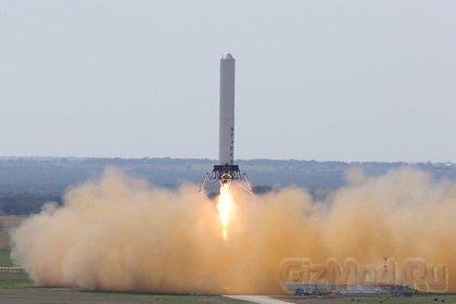 Новый рекорд многоразовой ракеты-носителя Grasshopper