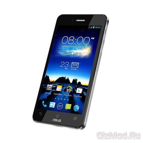 ASUS готовит смартфон на платформе Intel Clover Trail+